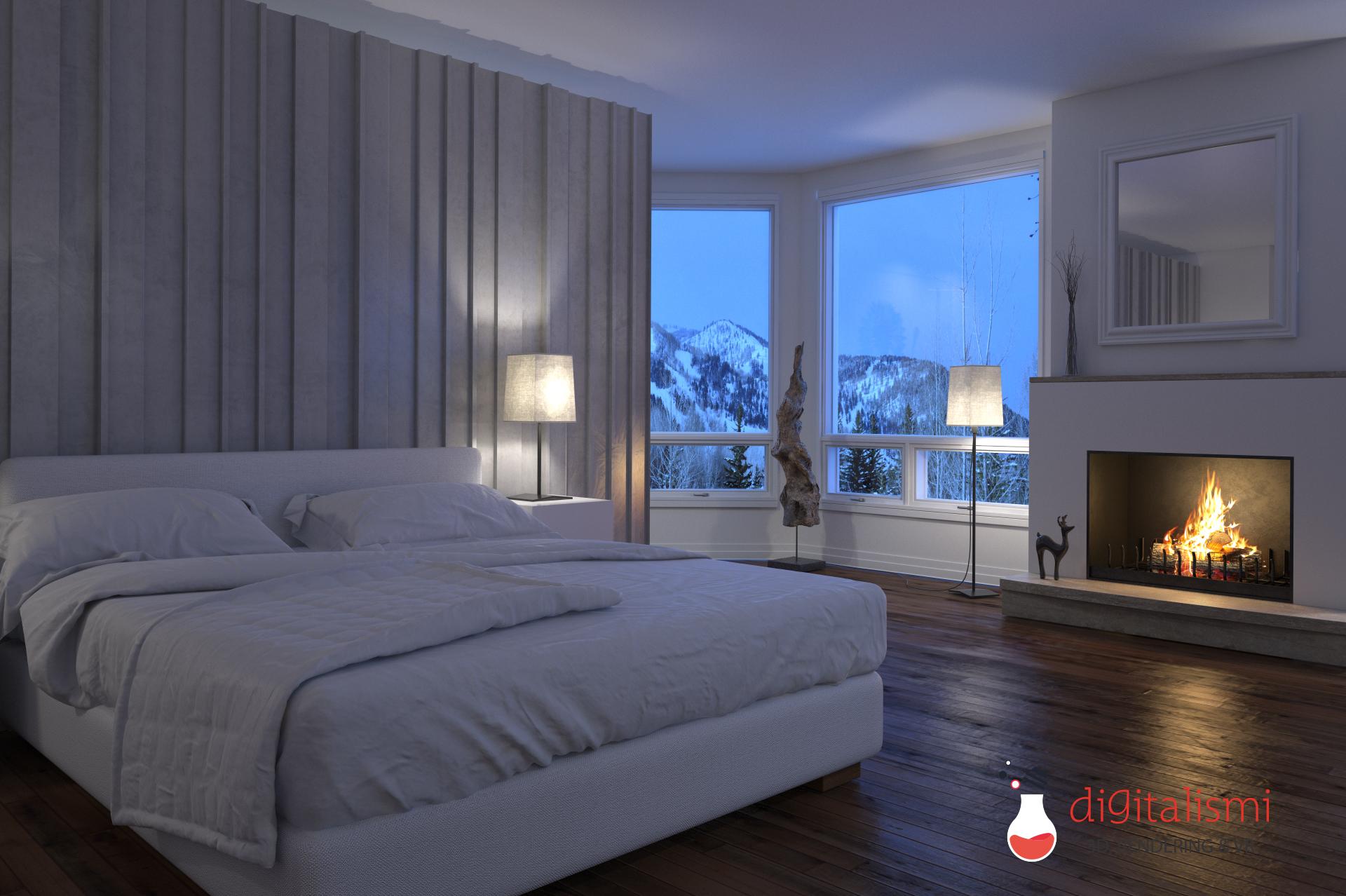 Rendering interni camere da letto digitalismi - Camere da letto immagini ...