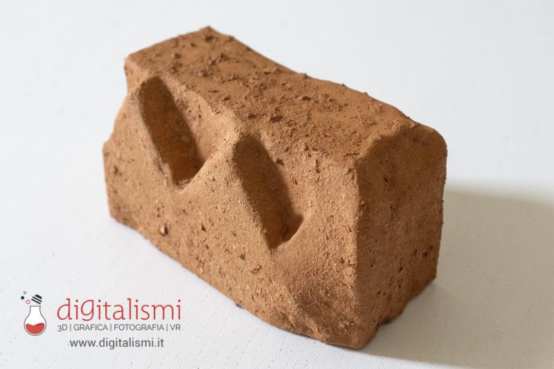 Stampa 3D e finitura terracotta laterizio