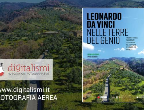 """Fotografia aerea per: """"Leonardo Da Vinci – Nelle terre del genio"""""""