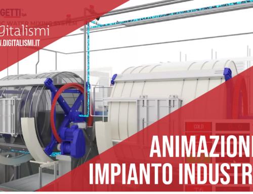 Animazione 3D impianto industriale