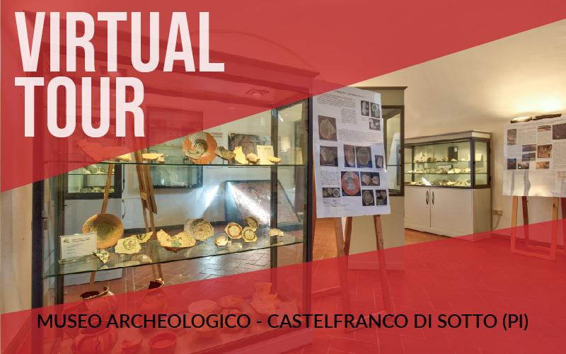 Virtual tour della Museo archeologico di Castelfranco di Sotto (PI)