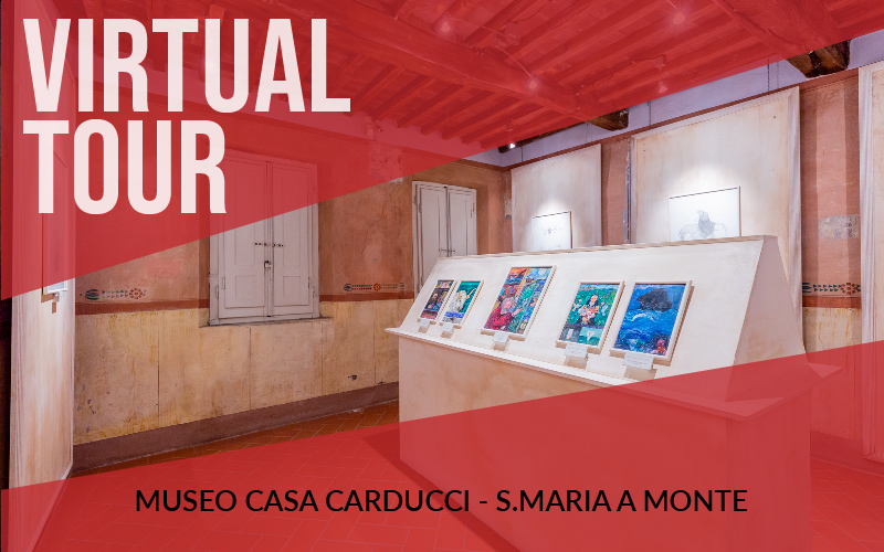 Virtual tour del Museo Casa Carducci a Santa Maria a Monte