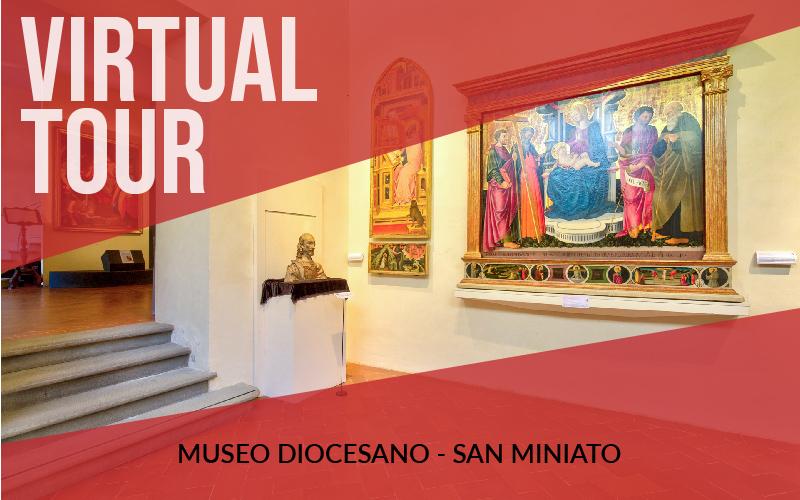Virtual tour museo diocesano di arte sacra a San Miniato (PI)