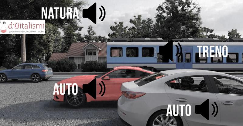 animazione 3d audio