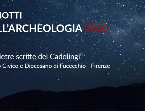 Notti dell'archeologia 2020