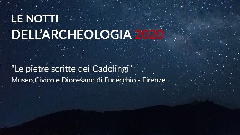 notti archeologia 2020 fucecchio