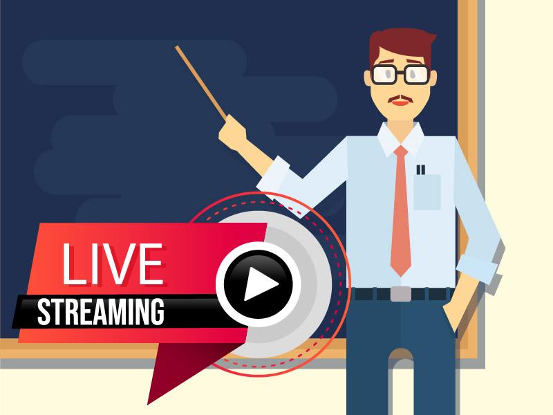 corso di fotografia in streaming live