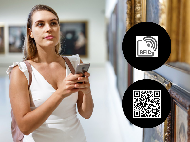 musei nfc rfid qrcode