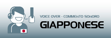 commento sonoro voice over giapponese