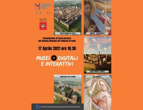 """Presentazione del progetto""""Musei+digitali e interattivi"""" Valdarno Musei"""